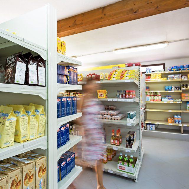 Prodotti alimentari al Market